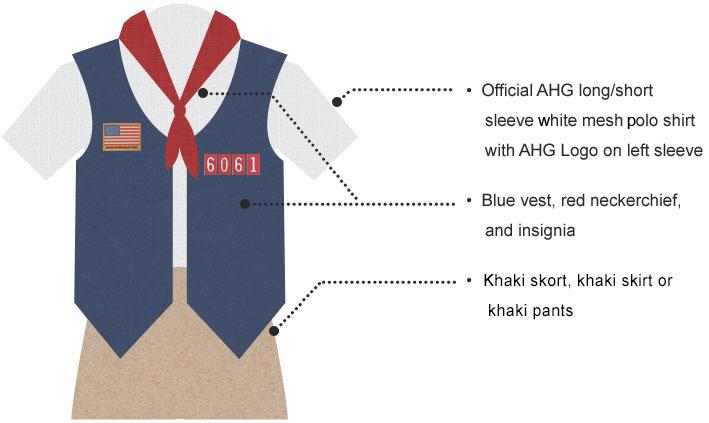 Explorer Uniform Requirements